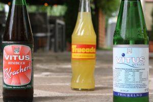 Alkoholfreie Getränkeflaschen